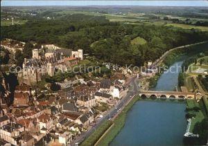 Saint Aignan Loir et Cher Fliegeraufnahme Kat. Saint Aignan