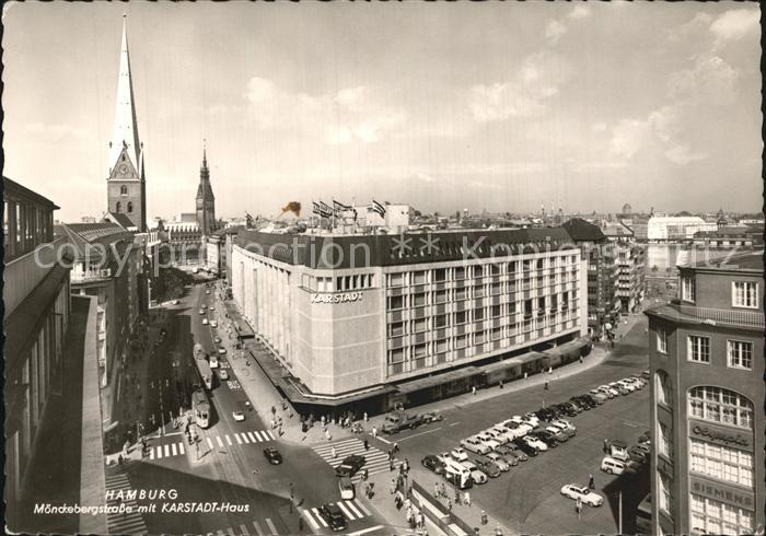 Hifi Hamburg Mönckebergstraße hamburg moenckebergstrasse mit karstadt haus kirche hamburg nr