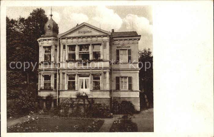 Friedrichroda Villa Regina Kat. Friedrichroda