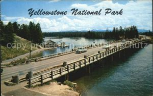 Yellowstone National Park Fishing bridge  Kat. Yellowstone National Park