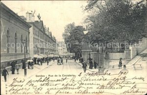 Geneve GE Rue de la Corraterie Kat. Geneve
