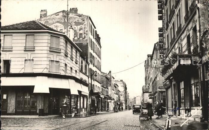 Courbevoie Rue de Bezons  Kat. Courbevoie