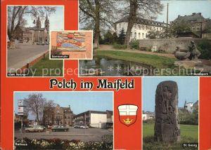 Polch Maifeld Katholische Kirche Freizeitpark Rathaus Sankt Georg Kat. Polch