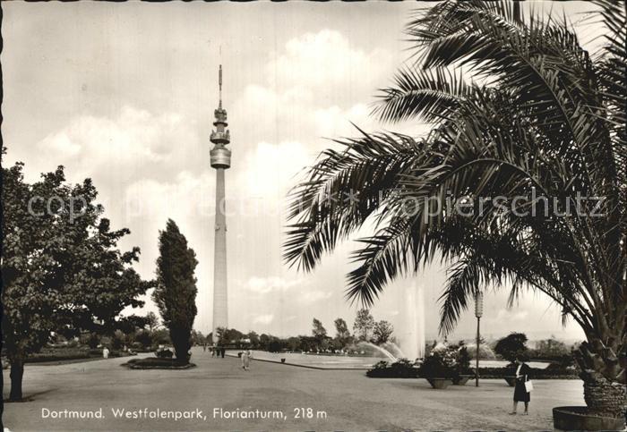 Dortmund Westfalenpark Florianturm  Kat. Dortmund