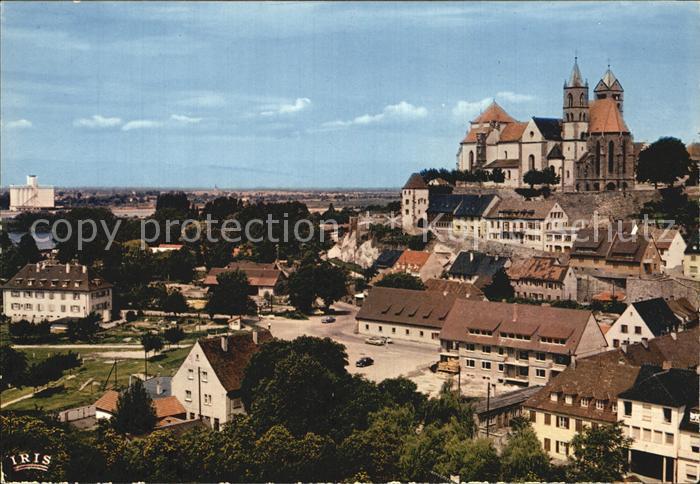 Breisach Rhein Schloss Stadtansicht Kat. Breisach am Rhein
