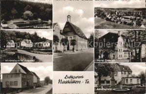 Nastaetten Taunus Mineralquelle Schwall Adolfsplatz Hotel Oranien  Kat. Nastaetten
