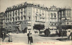 Geneve GE Hotel Beau Rivage Kat. Geneve