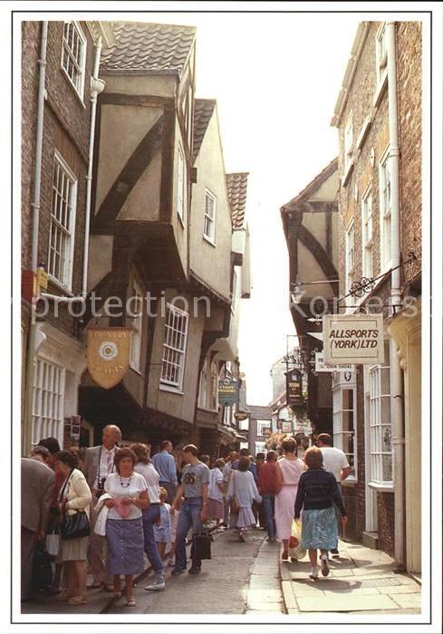 York UK The Shambles Kat. York