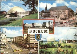 Bochum Planetarium Sternwarte Rathaus Kat. Bochum