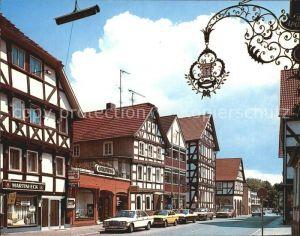 Rotenburg Fulda Fachwerkhaeuser in der Breitenstrasse Kat. Rotenburg a.d. Fulda