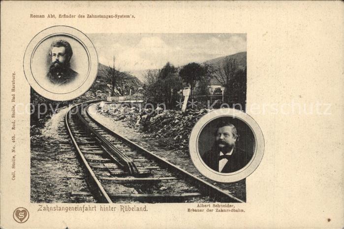 Ruebeland Harz Zahnstangeneinfahrt Albert Schneider Roman Abt
