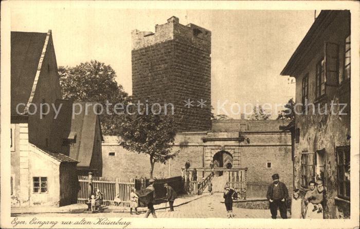 Le Lavandou Eger Eingang alten Kaiserburg Kat. Le Lavandou