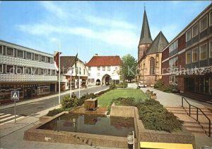 Lengerich Westfalen Rathausplatz Kat. Lengerich
