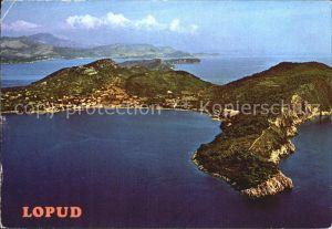Lopud Dubrovnik Panorama Kat. Insel Lopud Dubrovnik