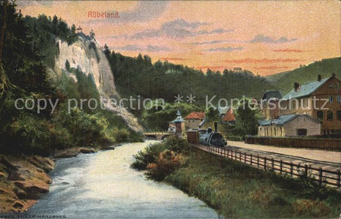 Ruebeland Harz Harz Zahnrad Bahn