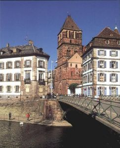 Strasbourg Alsace Eglise St. Thomas Kat. Strasbourg