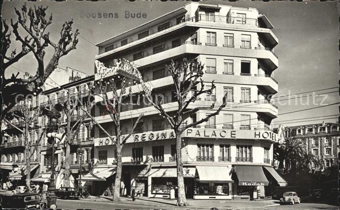 Nice Alpes Maritimes Hotel Regina Palace  Kat. Nice