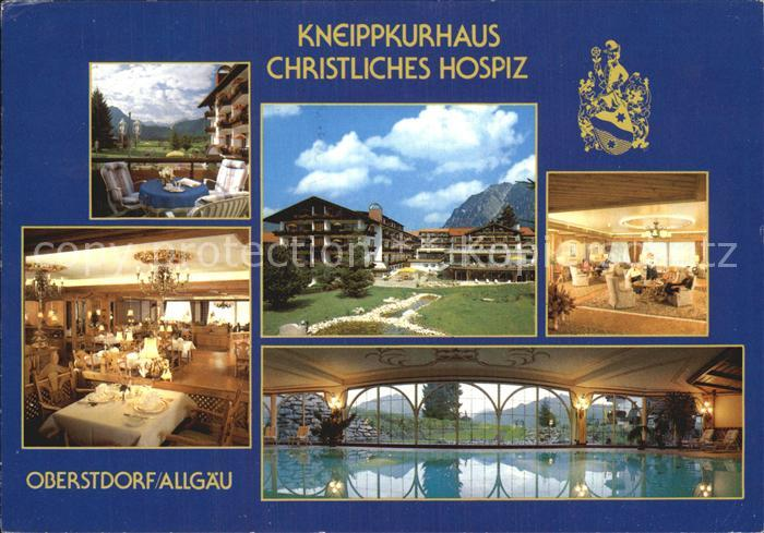 Oberstdorf Kneippkurhaus Christliches Hospiz Kat. Oberstdorf
