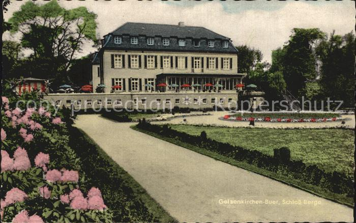 Gelsenkirchen Buer Schloss Berge Kat. Gelsenkirchen