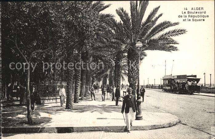 Alger Algerien Boulevard de la Republique