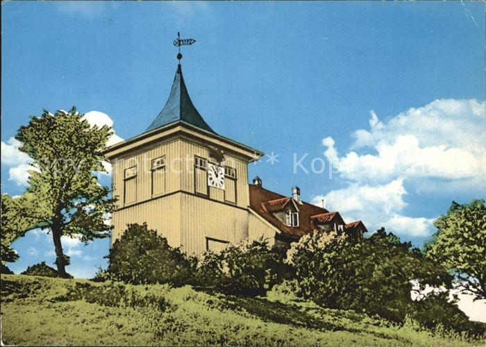 St Andreasberg Harz Glockenturm auf Glockenberg Kat. Sankt Andreasberg