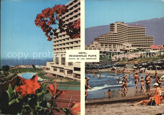 Playa de las Americas San Eugenio Hotel Bouganvilla Playa Strand