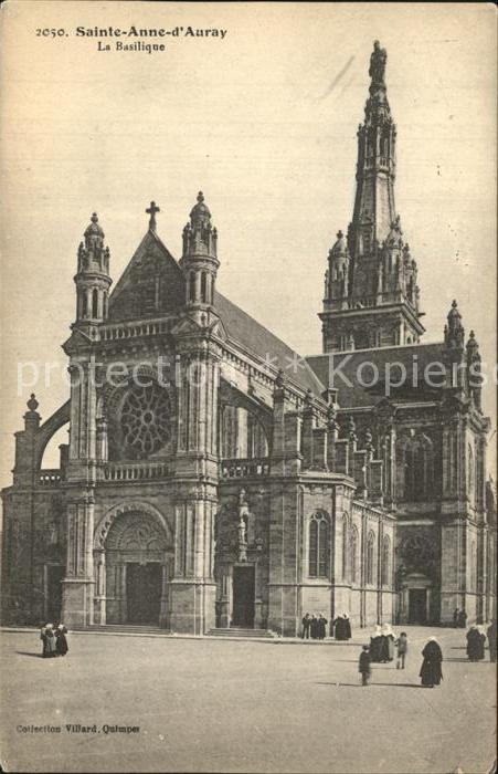 Sainte Anne d Auray La Basilique Kat. Sainte Anne d Auray