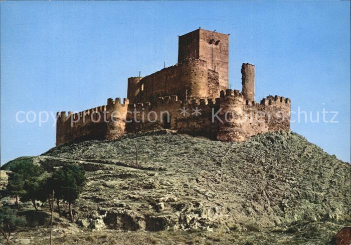 Alicante Castillo de Espana De Biar Kat. Alicante