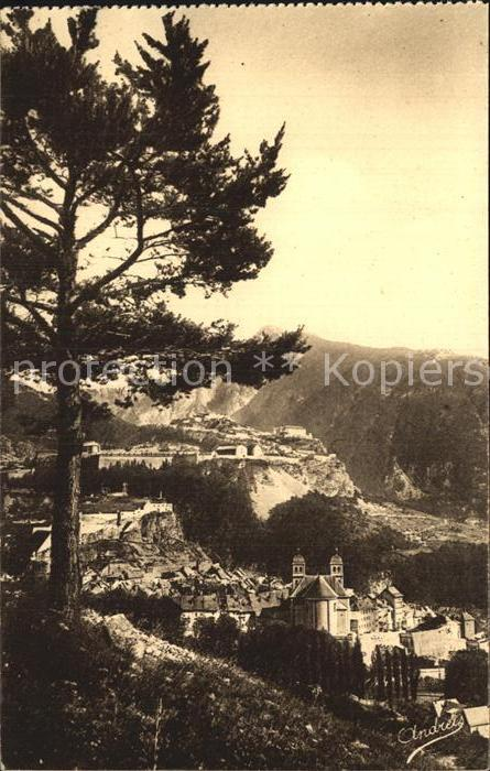 Briancon Le Fort des Tetes et le Randouillet les Alpes Kat. Briancon