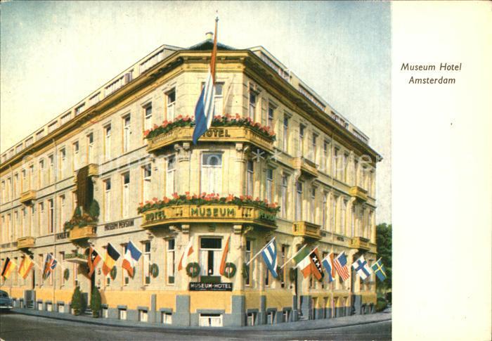 Amsterdam Niederlande Museum Hotel Kat. Amsterdam