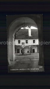 Loosdorf Schlosseingang Kat. Loosdorf