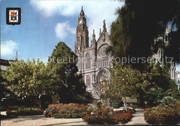 Arucas Gran Canaria Catedral Primera coleccion de Catedrales No 12 Kat.