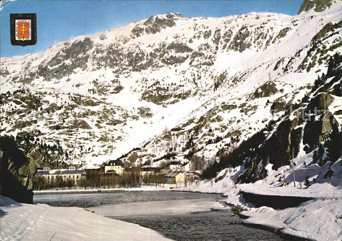 Panticosa Balneario vista general en invierno Kat. Spanien