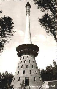 Ochsenkopf Fernsehturm auf dem Ochsenkopf Fichtelgebirge Kat. Spiegelau