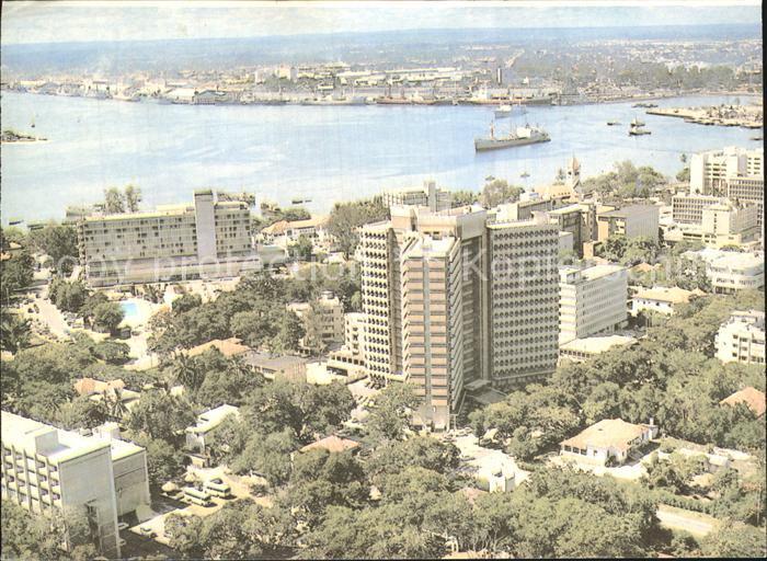 Tansania Fliegeraufnahme Salaam City Kat. Tansania
