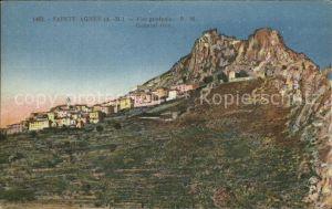 Sainte Agnes Nice Vue generale Montagnes Kat. Sainte Agnes