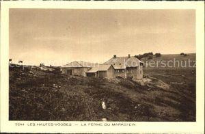 Le Markstein Ferme dans les Hautes Vosges Collection l Alsace Kat. Oderen