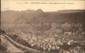 Le Mont Dore Vue generale et le Capucin Kat. Mont Dore
