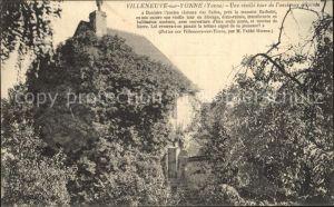 Villeneuve sur Yonne Une vieille tour de l ancienne enceinte Kat. Villeneuve sur Yonne