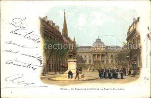 Paris Palais de Justice et la Sainte Chapelle Kat. Paris