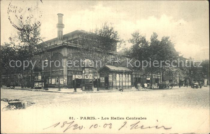 Paris Les Halles Centrales Kat. Paris