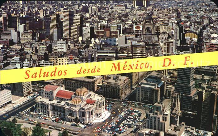 Mexiko Fliegeraufnahme Kat. Mexiko
