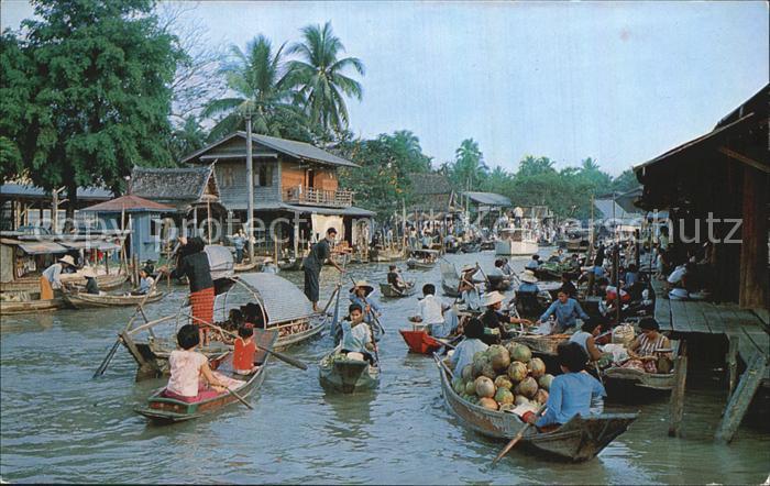 Thailand Marktboote Kat. Thailand