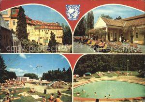 Piestany Liecebny dom Thermia Palace Napolenske kupele Termalne kupalisko Eva Kat. Piestany