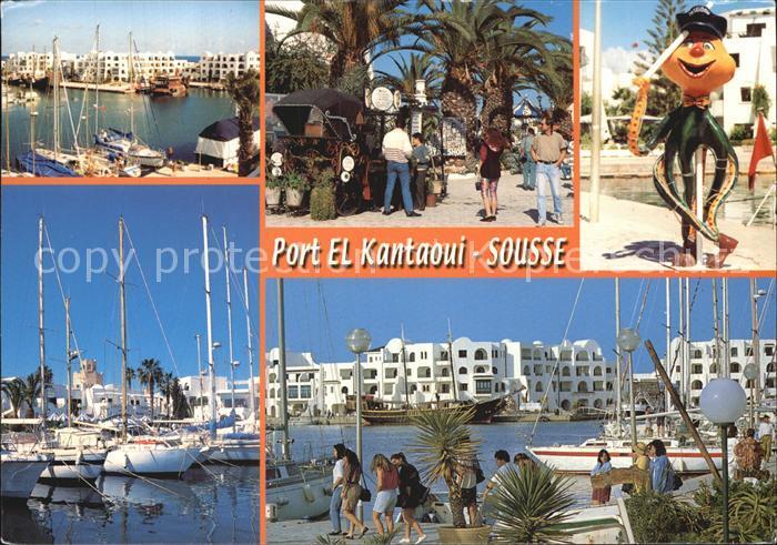 Sousse Port El Kanataoui Teilansichten Kat. Tunesien
