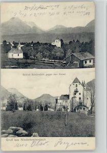 Langkampfen Niederbreitenbach Schloss Schoenwoerth o 1915 / Langkampfen /Tiroler Unterland
