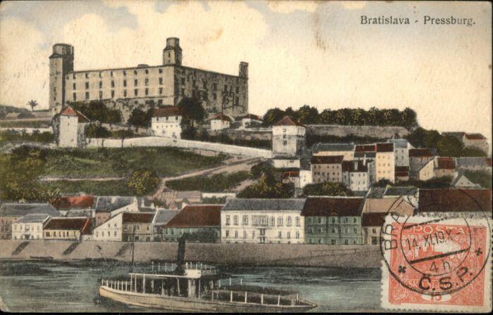 Bratislava Pressburg Dampfer x