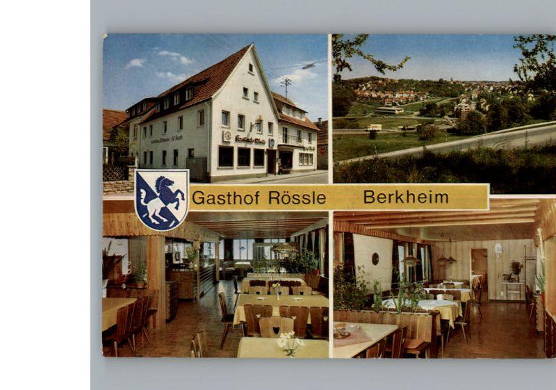 Berkheim Esslingen Gasthof Roessle / Esslingen am Neckar /Esslingen LKR