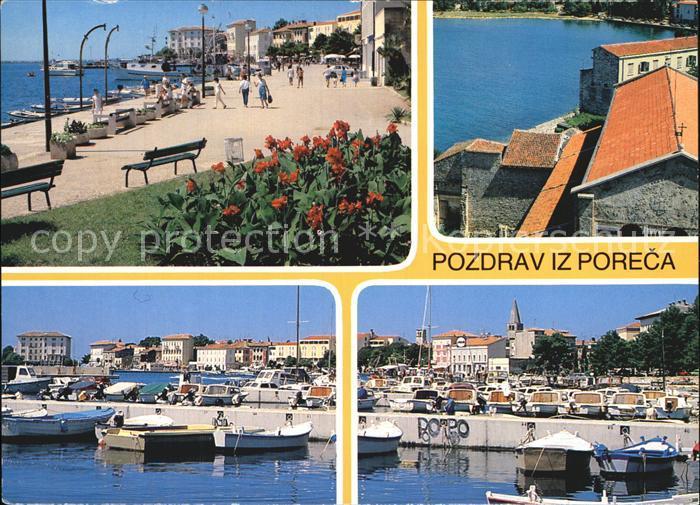 porec strand kat kroatien nr kt24114 oldthing ansichtskarten europa gebiete ehm jugoslawien. Black Bedroom Furniture Sets. Home Design Ideas