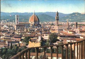 Firenze Toscana Panorama dal Giardino di Boboli Kat. Firenze